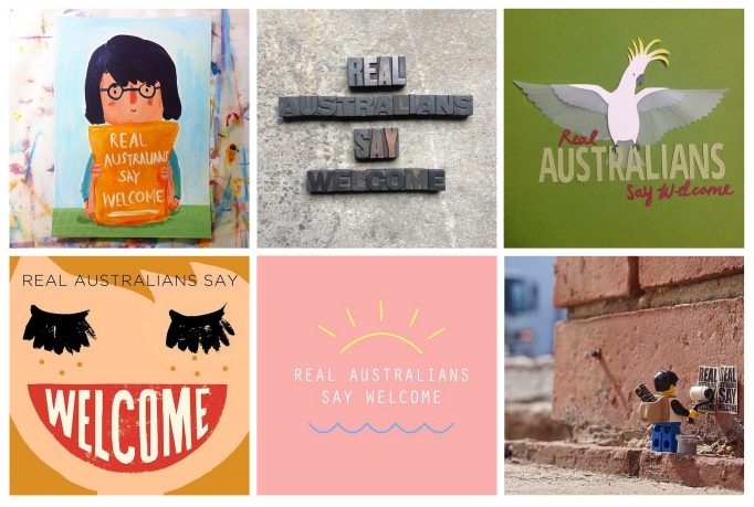 real australians collage
